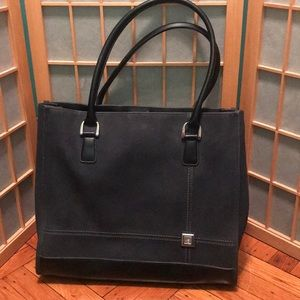 Large Black Diane Von Furstenberg Tote Bag